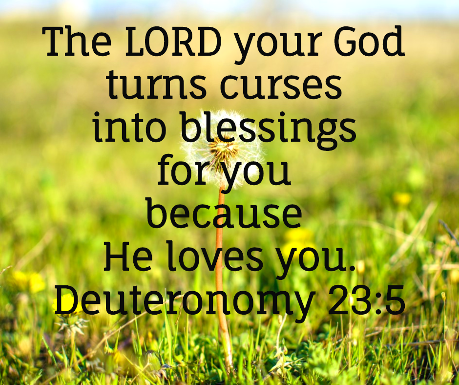 Deuteronomy 23:5 Archives - Manna for Marriage