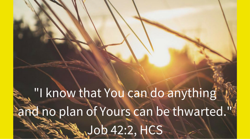 Scriptures Job 42:2