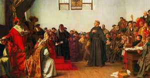 Luther Before the Diet of Worms, by Anton von Werner (1843–1915)